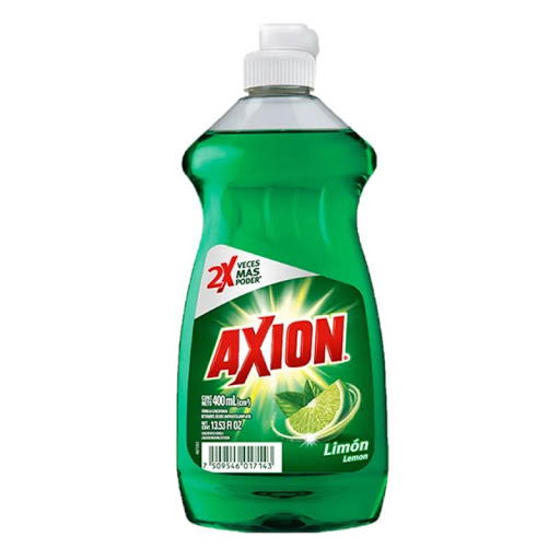 Lavaplatos Liquido Axion Limon Importado 400Ml