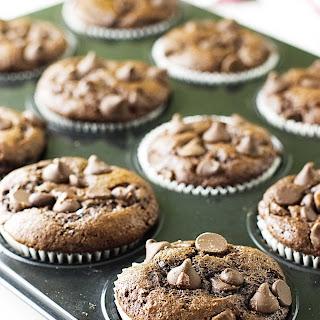 Einkorn Chocolate Banana Muffins.