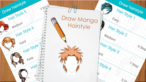 Learn to draw hairstyles - Learn to draw Hair screenshots 3