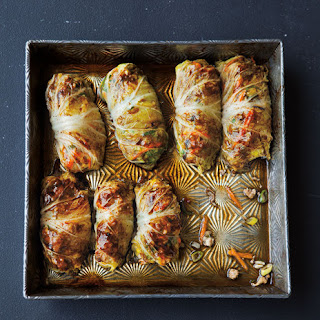 Asian-Style Cabbage Rolls.