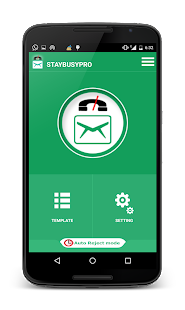 StayBusy PRO -  Auto SMS Reply- screenshot thumbnail