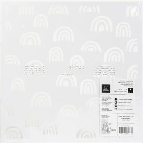 Heidi Swapp Die-Cut Specialty Paper 12X12 - Care Free