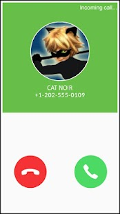 Miraculous Cat Noir Fake Call - náhled