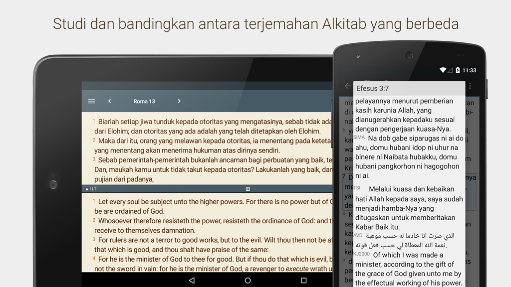Alkitab- screenshot