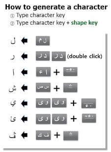 FAST Arabic Keyboard - náhled