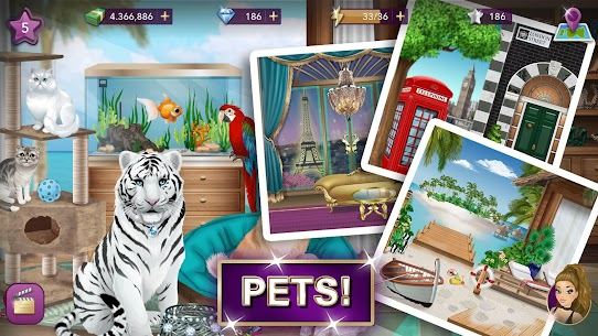 Hollywood Story Mod Apk Fashion Star 9.12.1 (Free Shopping) 4