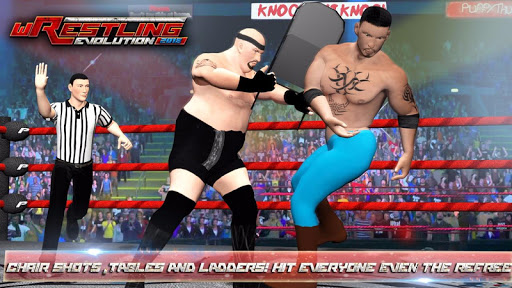 Wrestling Games 2K18 - Real Stars Revolution