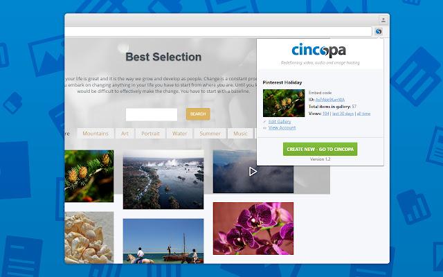 Cincopa App