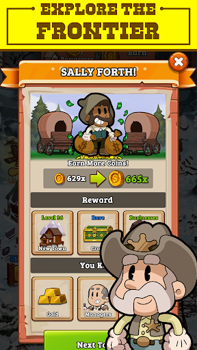 Idle Frontier: Tap Town Tycoon filehippodl screenshot 5