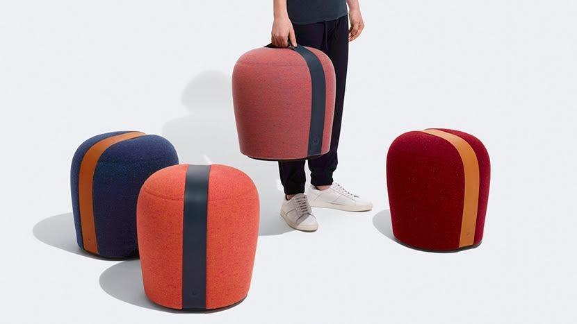 Claesson Koivisto Rune colabora con Modus en el diseño de un taburete artesanalmente tapizado