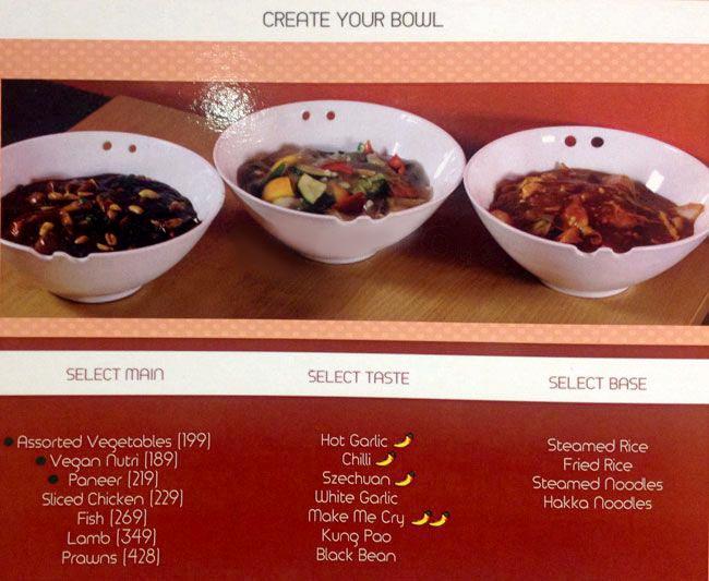 Orange Chopstick menu 13