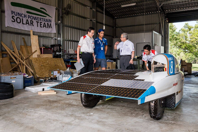 Bridgestone World Solar Challenge 2017