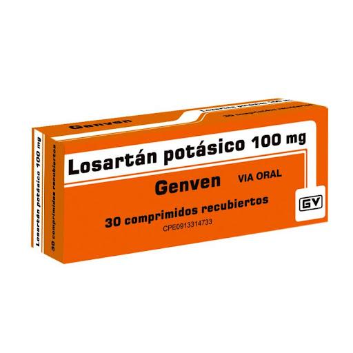 Losartan Potasico 100Mg 30 Comprimidos Genven