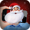 Face scanner: What Santa Claus icon