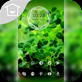 Fresh green plants topic