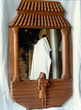 Photo: Altura: 120 cm. aprox. || Talla en madera. Woodcarving.   Puedes conocer más de este artista en el blog: http://tallaenmadera-woodcarving-esculturas.blogspot.com/