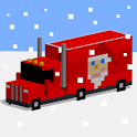 Christmas Road Cross 3D icon