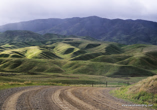 Photo: The glow of winter over the Panoche Hills, San Benito County.