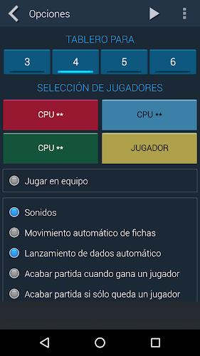 Parchís Android App Screenshot