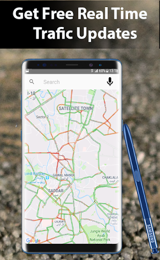 Voice GPS Driving Directions - GPS Maps Navigation 3.1.0 screenshots 4
