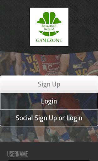 Basketball Ireland GameZone