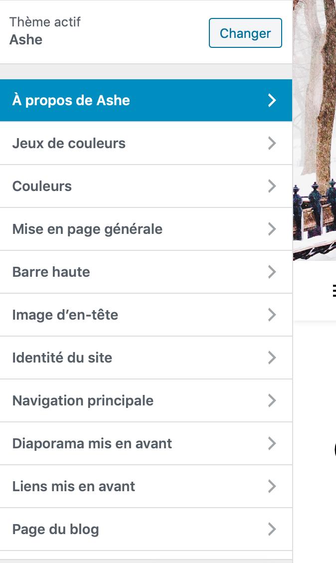 Wordpress-menu-personnaliser