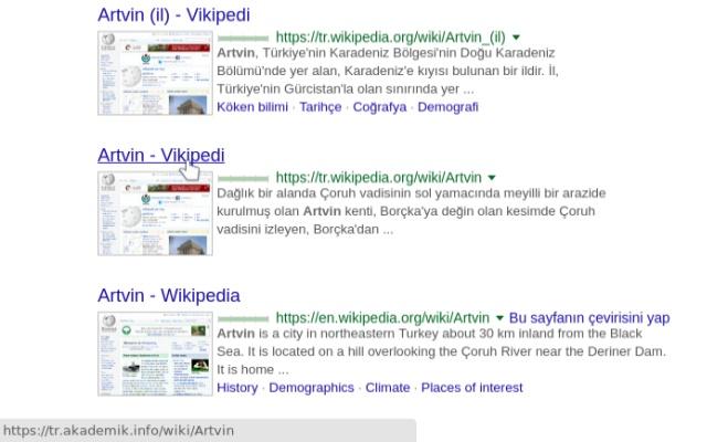 Vikipedi Açar