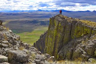 Photo: Big Belt Mountains on horizon