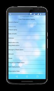 ReXi: E-Prescription Maker screenshot 1