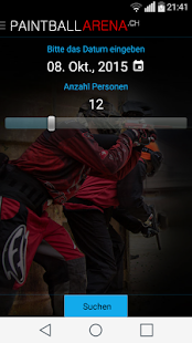 Paintball Arena App- screenshot thumbnail