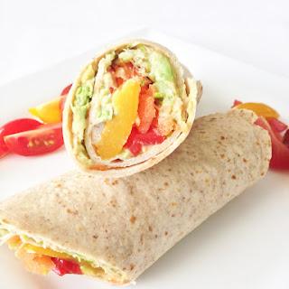 Healthy Veggie Wrap.