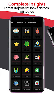 Download News Shots - Daily Breaking Summarized News For PC Windows and Mac apk screenshot 6