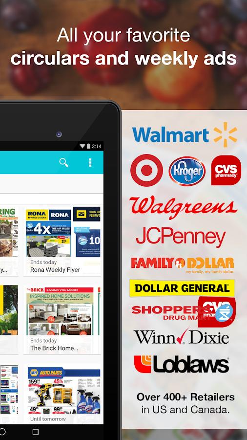 Flipp - Flyers & Weekly Ads - screenshot