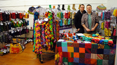 Photo: Done! Mr and Mr Easyknits ready for business!
