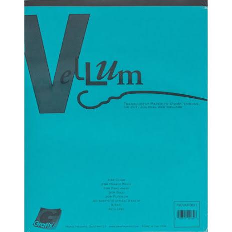 Grafix Vellum Assortment 8.5X11 40/Pkg