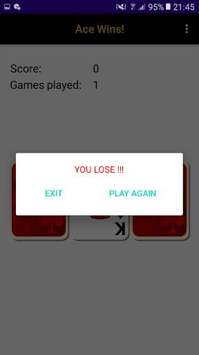 Ace Wins! A simple 3 cards game. apktram screenshots 2