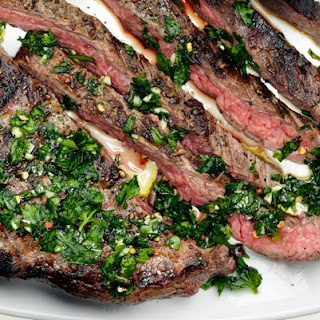 Bobby Flay's Chimichurri Steak.