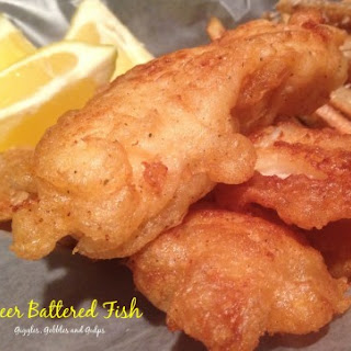 Basic Beer Battered Cod for Fish and Chips Recipe