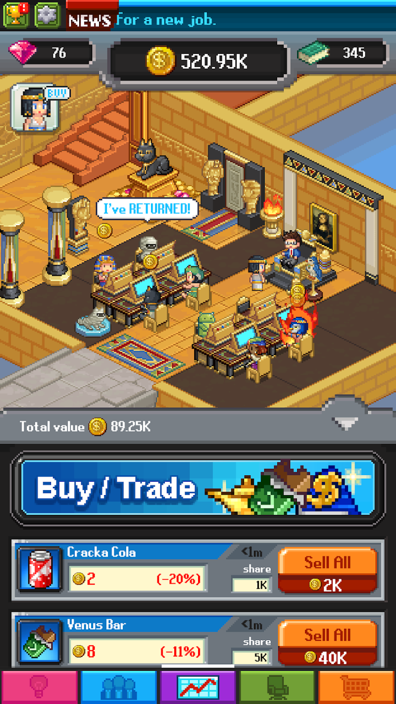 Tap Tap Trillionaire - Business Simulator Screenshot 11