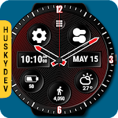 Spin Watch Face (by HuskyDEV)