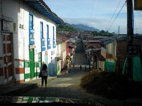 Photo: Támesis town streets