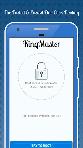 KingMaster - Rooting joke app (apk) free download for Android/PC/Windows screenshot