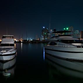 Harbour View at Manila  by Dj Hostalero - Transportation Boats ( djmaculet, yacht club, boat, manila )