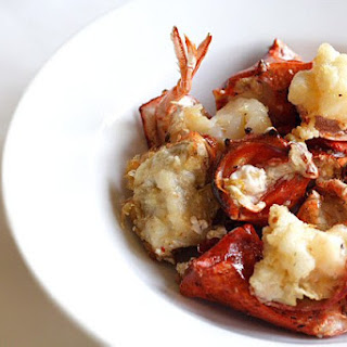 Stir-fried Lobster with Butter and Cheese (芝士牛油焗龙虾)