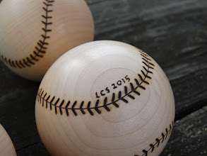 Photo: Maple baseballs - Detail (12/2015)