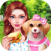 Fashion Doll - Pet Picnic Day