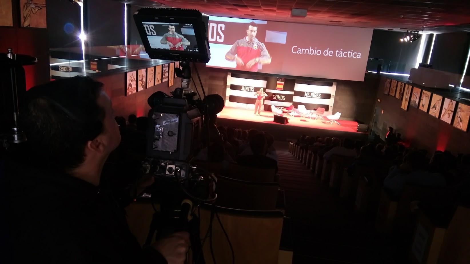 Conferencia de José Luis Abajo Pirri en Madrid COI Coca-cola 2017