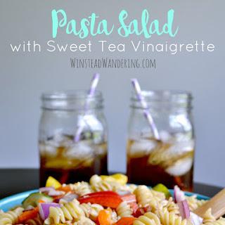 Pasta Salad with Sweet Tea Vinaigrette