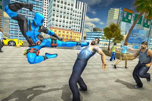 Dead Superhero Sword Fighter City Pool Mission 1.1 screenshots 3