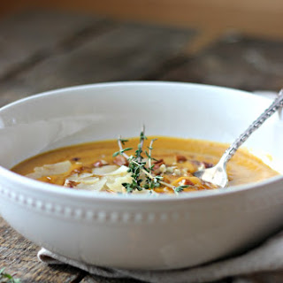 Roasted Balsamic Winter Vegetable Soup.